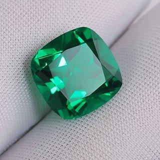 Jaipur Gemstone Emerald Panna Original  Certified Stone 8.50 carat