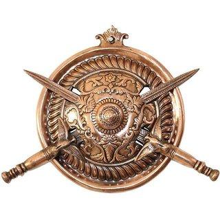 CRAFTASTIC dhal ctcdt25s Showpiece - 25 cm  (Aluminium, Copper, Copper)