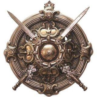 CRAFTASTIC dhal ctcdt55m Showpiece - 45 cm  (Aluminium, Copper, Copper)