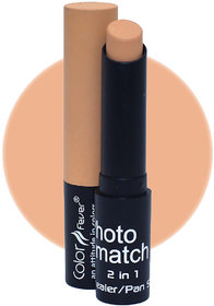 Color Fever Photo Match Radiant Complexion Concealer Pan Stick, 3.5gm (Light Wheat)