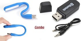 Combo of Car Bluetooth Device with USB Light
