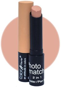 Color Fever Photo Match Radiant Complexion Concealer Pan Stick, 3.5gm (Pink Nude)