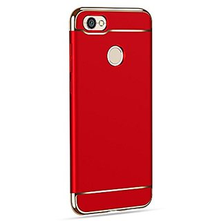 newest 815ab 5a864 BM Huawei Honor 9 lite Case 3in1 360 Anti Slip Super Slim Back Cover for  Huawei Honor 9 lite ( RED