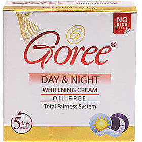 GOREE DAY NIGHT WHITENING CREAM (OIL FREE / WHOLESALE RATE PACK).