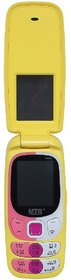 Mtr Mt Smart Dual Sim Mobile Phone With Flap In Yellow