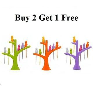 Bird Plastic Fruit Fork Buy 2 Get 1 Free