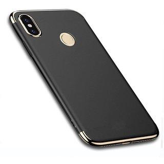Buy BM Redmi Note 5 Pro 3 in 1 Electroplated Shockproof Back Cover Case (Black) Online - Get 65% Off