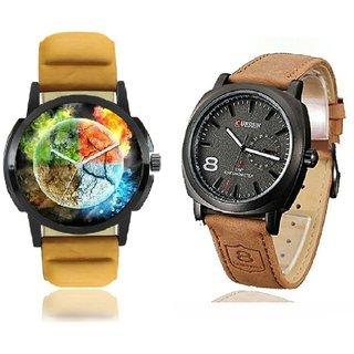 PMAX Curren Business Man Quartz fashion Sport Casual Wrist Combo Watch
