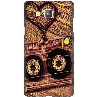 Printland Back Cover For Samsung Galaxy On5