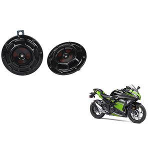 Himmlisch Hella Bike Black Thunder Supertone Horn Set of 2 -For  Kawasaki Ninja 300
