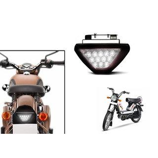 Buy Himmlisch White 12 Led Brake Light With Flasher For Tvs Xl 100