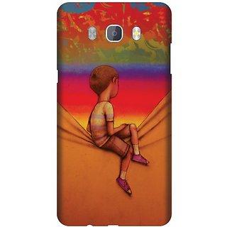 Printland Back Cover For Samsung J7 New Edition 2016