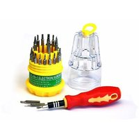 Jackly 31 In 1 Multifunction Universal Magnetic Screwdriver Tool Kit For Mobiles