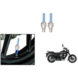 Himmlisch Bike Motion Sensor Tyre LED Blue Set of 2   For Bajaj Avenger 220 Street
