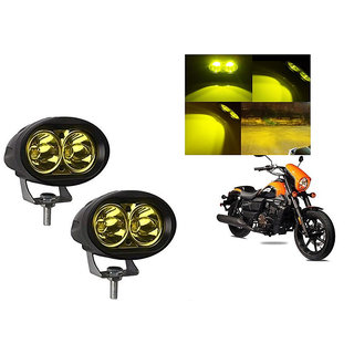 Himmlisch Bike 20W 3000K Led Driving Light Cree LED Aux Light Set of 2 yellow for  UM Renegade Sports