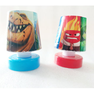 cartoon creator Night Usage Mini Push Small Table Lamp