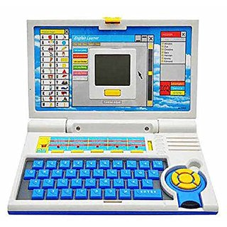 New Baby Kids English Learner Laptop with Mouse Latest Gift Children Toy