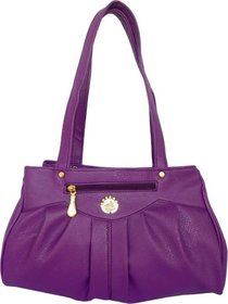 ALL DAY 365 Hand-held Bag  (Purple)
