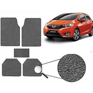 Autonity Anti Slip Noodle Car Floor Mats SET OF 5 Grey  For Honda Jazz
