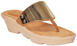 Khadim's Women's Gold Heels