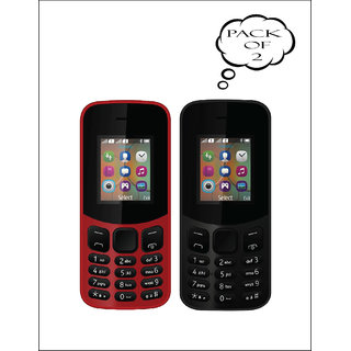 Set of 2 IKall K12 New Dual Sim 18 Inch Display BIS Certified Made In India Mobile   with 15 months Maufacturing Warrenty