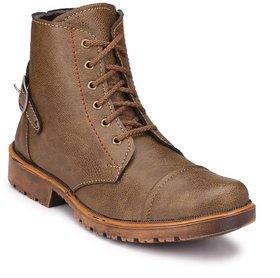 Big Fox Men's Brown Lace-up Boots