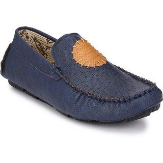 Big Fox Men's Blue Loafers
