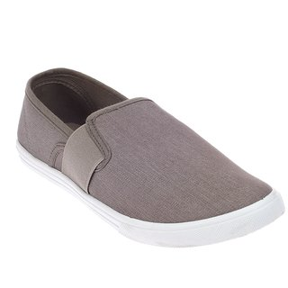 Khadim's Pro Grey Espadrille Shoe