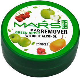 Mars Green Apple Nail Paint Remover