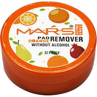 Mars Orange Nail Paint Remover