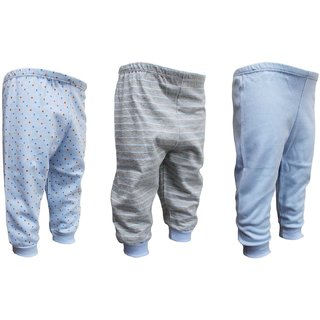 Tumble Blue Multi Print Track Pant Pack of 3