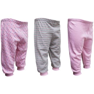 Tumble Pink Multi Print Track Pant Pack of 3