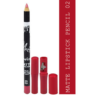 Matte Lipstick Pencil True Instant Color-02 Long-Wearing