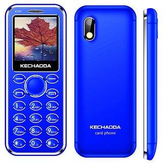 Buy Kechaoda K33 Card Phone (Dual Sim, 1 44 Inch Display, Bluetooth