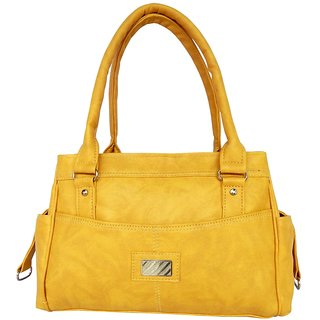 ALL DAY 365 Shoulder Bag  (Yellow)