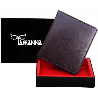 Tamanna Brown man's genuine leather wallet