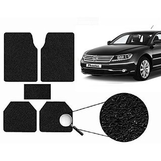 Autonity Anti Slip Noodle Car Floor Mats SET OF 5 Black  For Volkswagen Phaeton