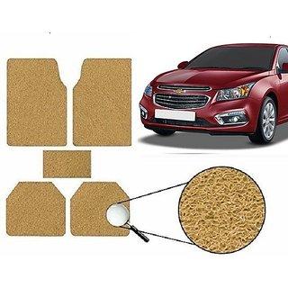 Autonity Anti Slip Noodle Car Floor Mats SET OF 5 Beige For Chevrolet Cruze