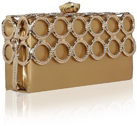 Zuby Designer Exclusive Party Box Clutch for Women Girls