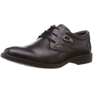Lee Cooper Mens Black Formal Shoe