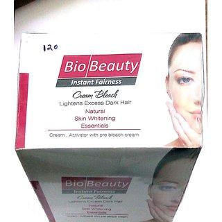 Bio Beauty Instant Fairness Bleach Cream Kit - 300gm