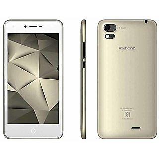 Karbonn Aura Sleek 4G Volte (1 GB, 8 GB,Champagne White)