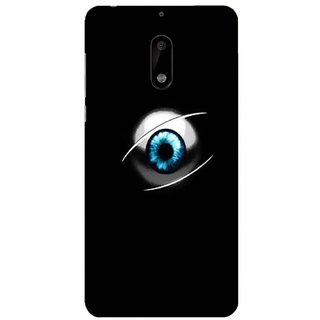 Printgasm Nokia 6 printed back hard cover/case,  Matte finish, premium 3D printed, designer case