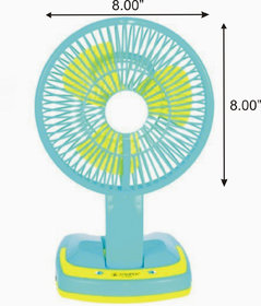 SUPER 5590 EMERGENCY LIGHT WITH RECHARGEABLE FAN MULTIF