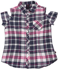 Urban Young & Free V neck Full Sleeves Shirt For Girls