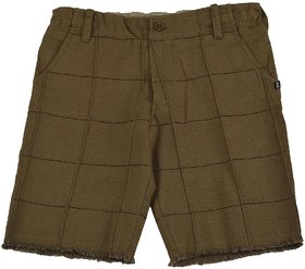 Urban Young & Free Green  Shorts for Boys