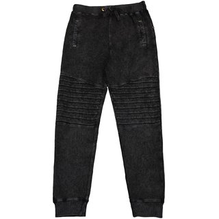 Urban Young & Free Black  Jogger for Boys