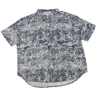 Urban Young & Free Black Half Sleeve Printed Shirt For Boys