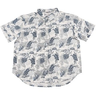 Urban Young & Free Blue Half Sleeve Printed Shirt For Boys