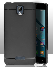 ECellStreet 360 Degree Protection Slim Flexible Soft Back Case Cover For Gionee P7 Max